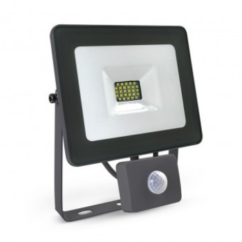 Proyector Led exterior con detector 20W