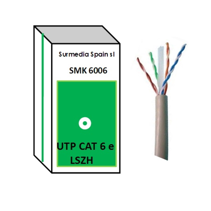Cable CAT6 UTP Libre Hálogenos