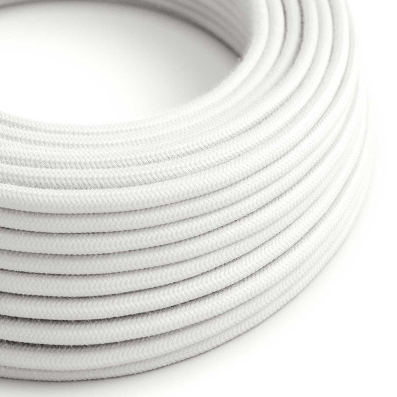 Cable Altas Temperaturas 1 x 2.5 mm. Blanco