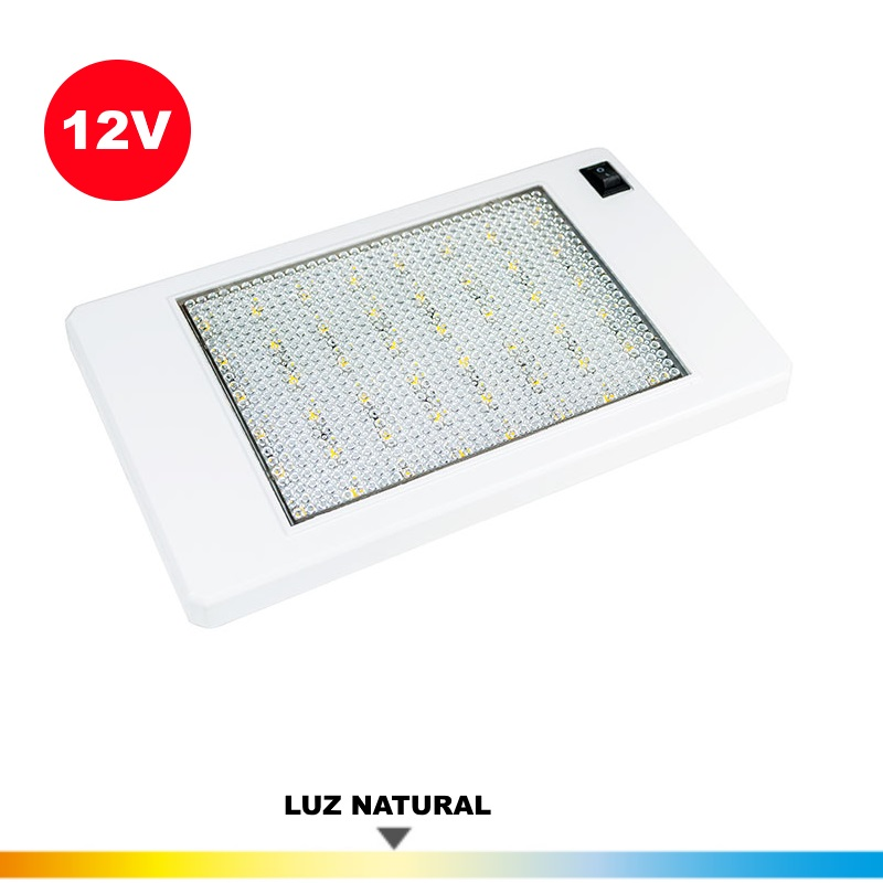 Plafon Led 12 Vol. 5 Wat. (Caravanas)