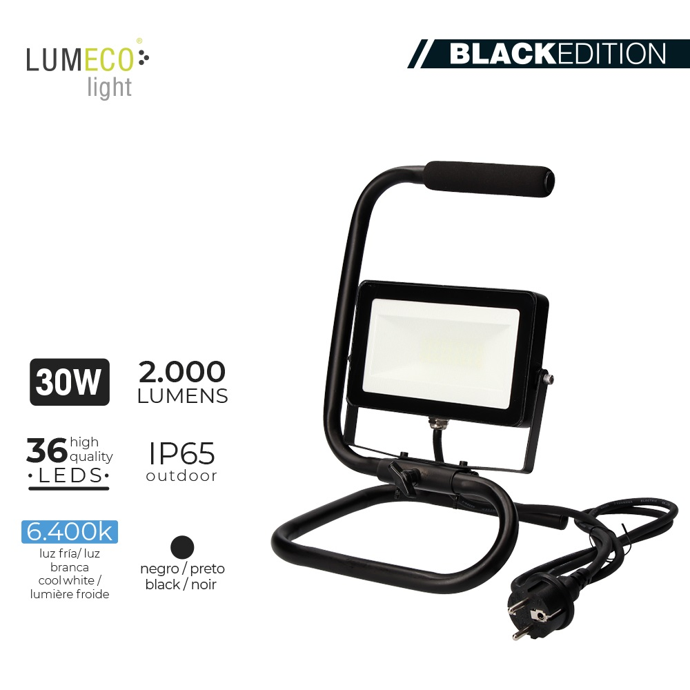 Proyector LED 30W Portatil