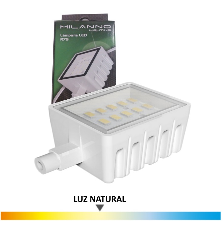 Bombilla Led Lineal 6 Wat. 78mm, Luz Natural