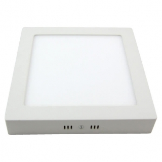 Downlight 12w 6500k Sup.cuad. Pegaso Led Blanco 950 Lm  17,3x17,3x4