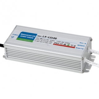 Transformador Estanco 100w 12v Ip67  17,1x6,2x4,1