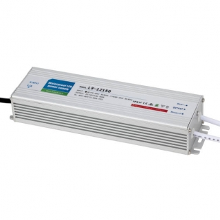 Transformador Estanco 150w 12v Ip67  23,3x6,3x4